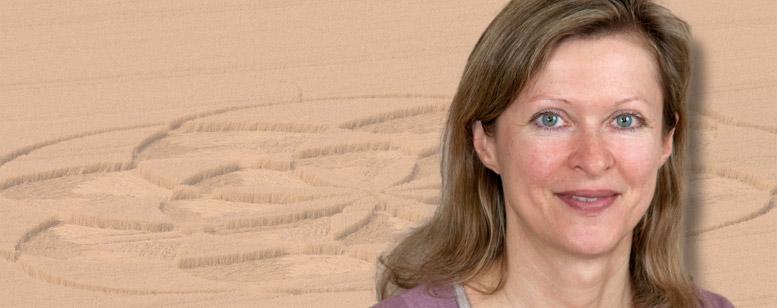 Header-Bild: der Kornkreis: Bio Dr. Birgit Jandl