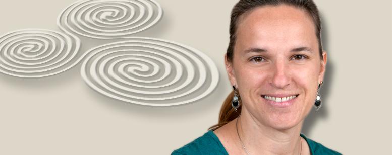 Header-Bild: der Kornkreis: Bio Petra Kristof